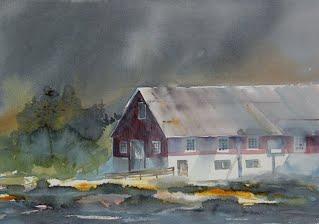 Agral akvarell